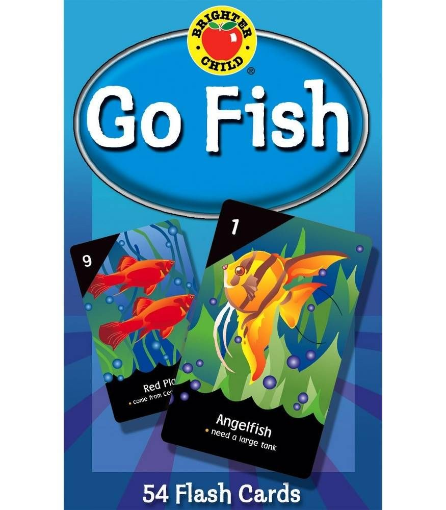 Go fish card game grade pk2 in 2020 fishing cards card