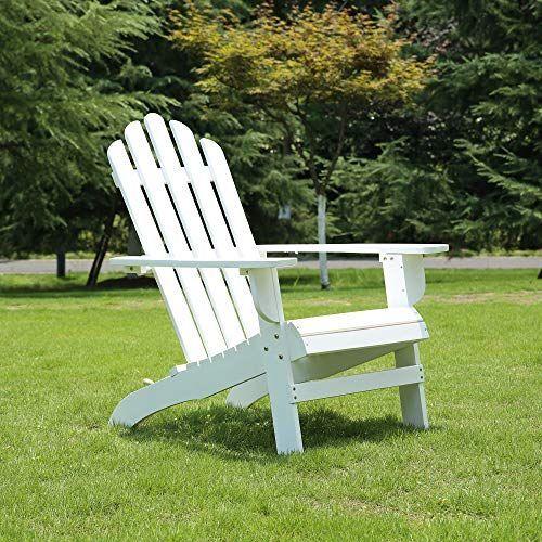 Azbro Outdoor Wooden Fashion Adirondack Chair Muskoka Chairs Patio