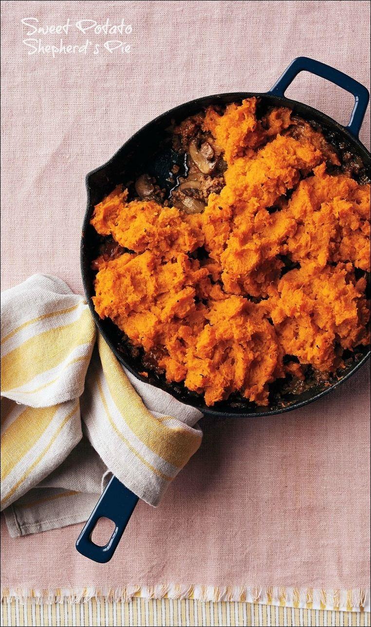 A shepherds pie casserole recipe using sweet potatoes