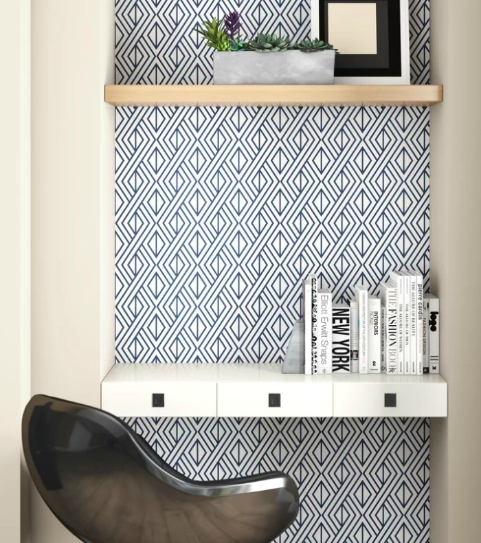 16 Creative Ways To Use Peel And Stick Wallpaper Peel Stick Wallpaper Wallpaper Roll Decor