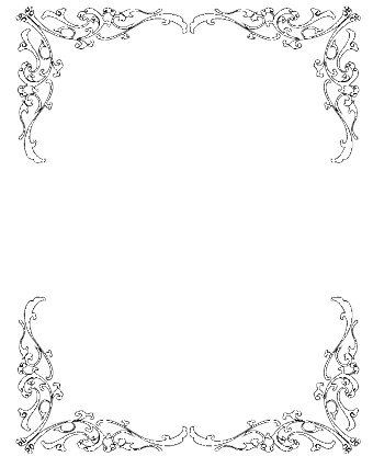 vintage border clipart - Google Search | Other wedding ...