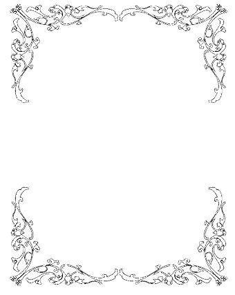 Wedding Invitation Clip Art Borders Free Clipart