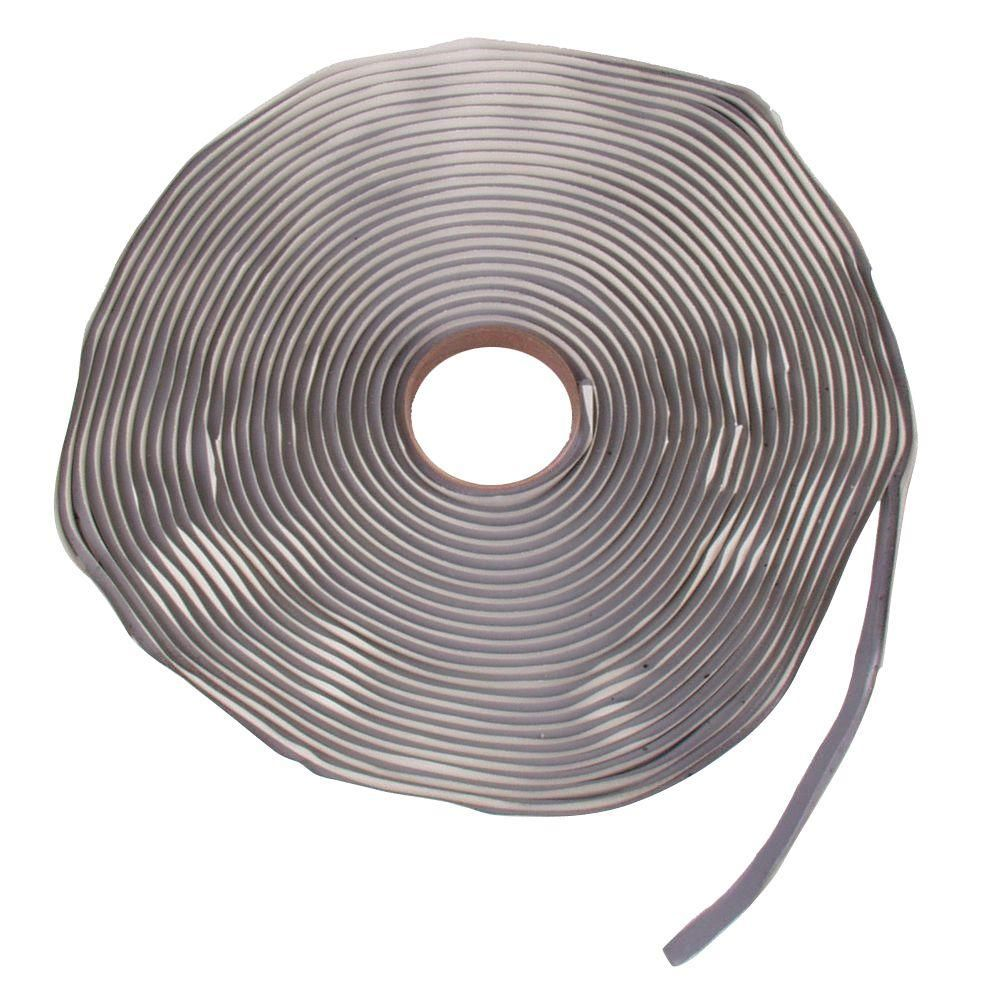 Fabral 1 4 In X 40 Ft Butyl Rubber Sealant Tape 40bt Metal Roof Rubber Sealant Butyl Rubber