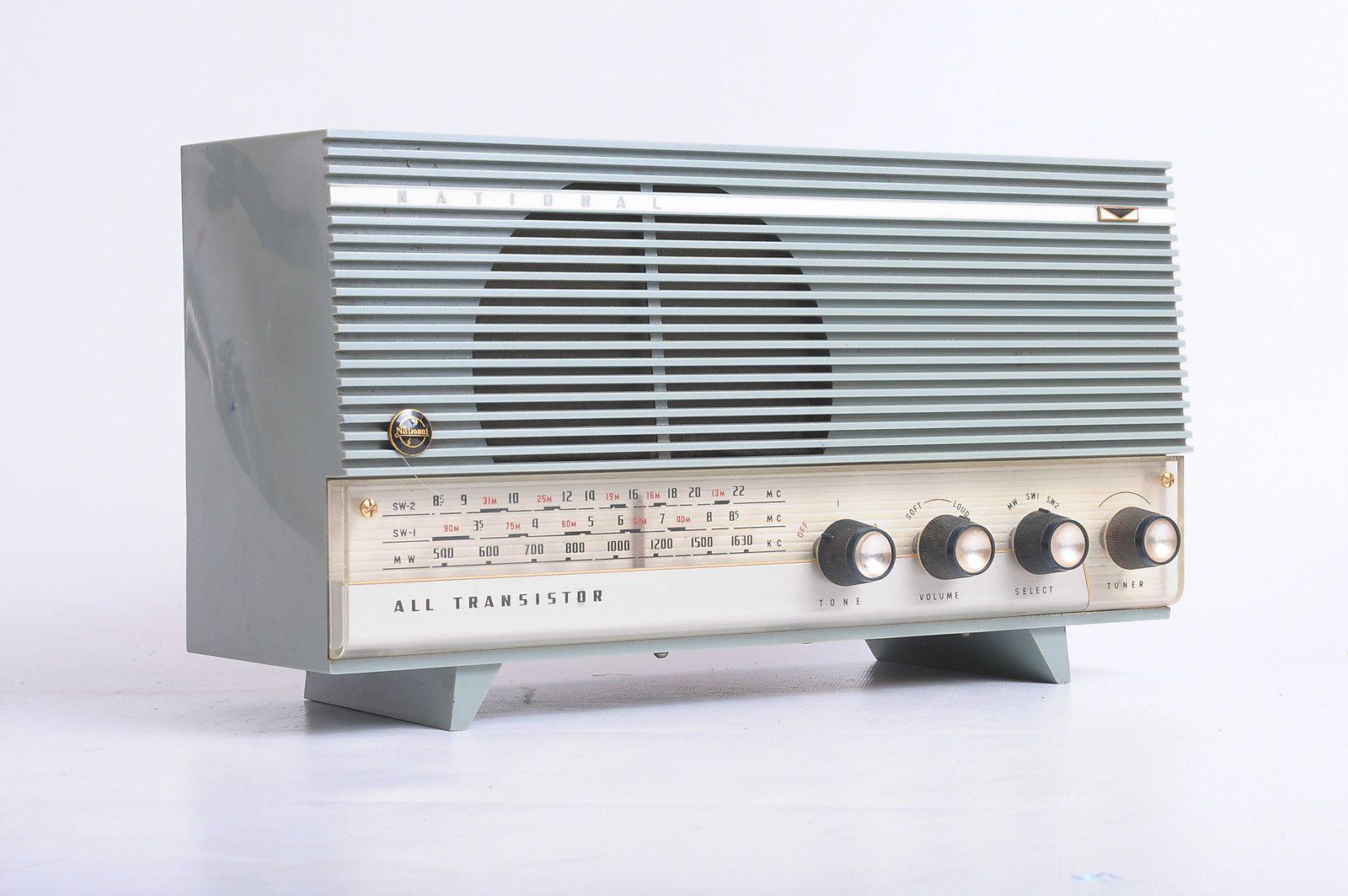 Vintage National Panasonic Ab 361 Transistor Radio Transistor Radio Transistors Radio