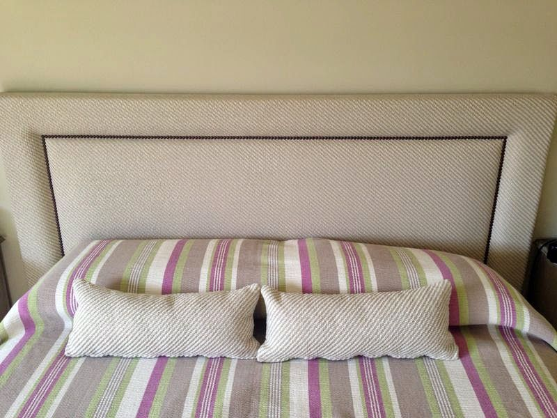 juan el tapicero cabecero cama en tela cojines - Cabeceros Con Cojines