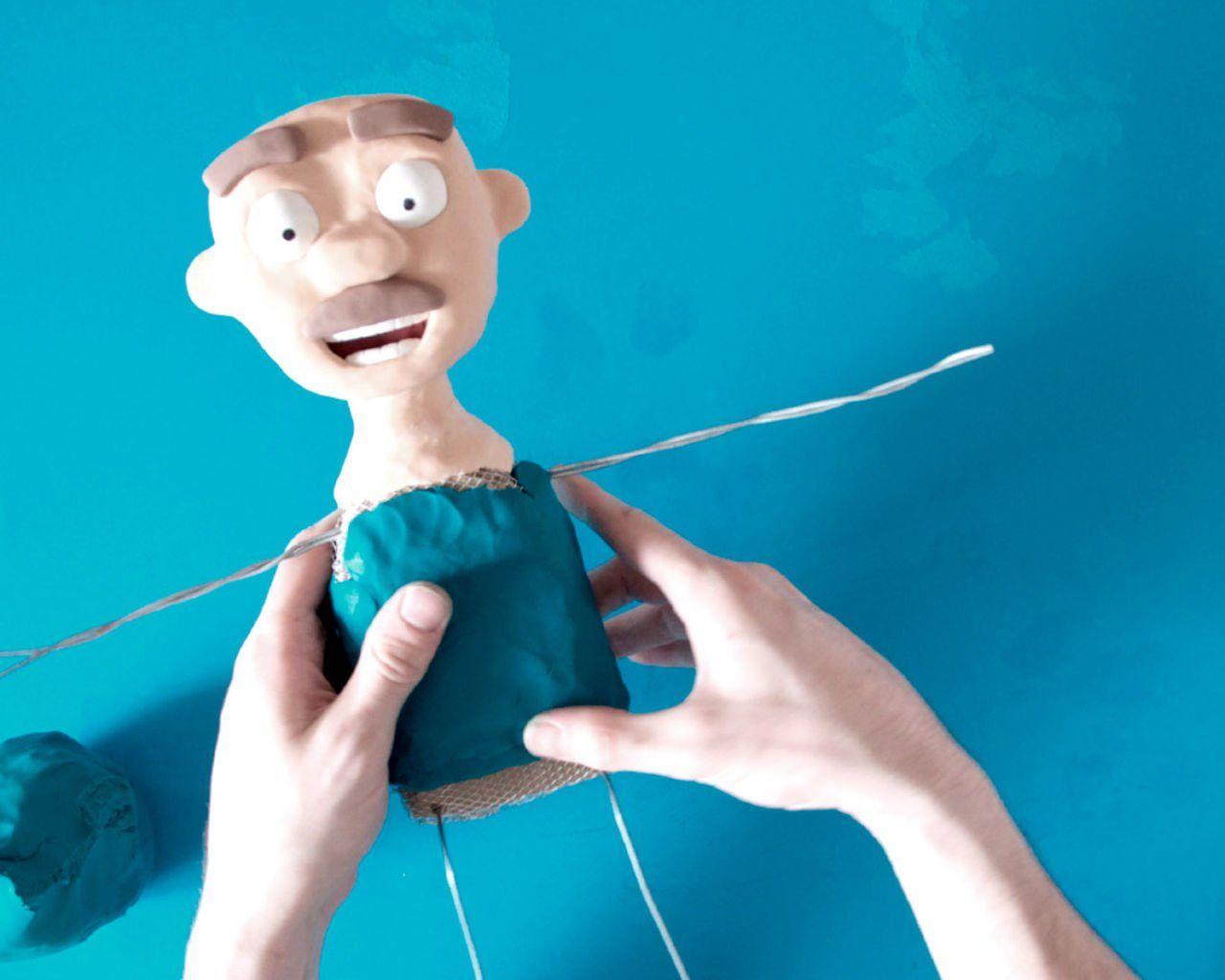 como hacer un muñeco de plastilina para hacer una película en Stop ...