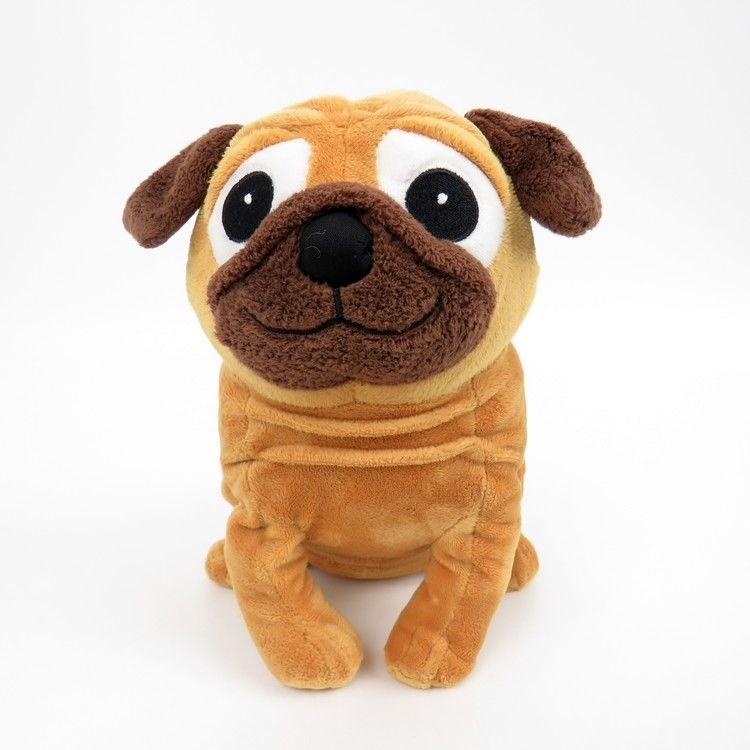 Kohl S Cares Pug Dog Stuffed Animal Plush Yip Snap Yap Charles