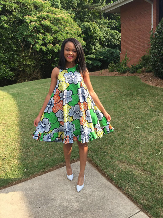 Extrem Swing Dress | Mode africaine, Pagne et Robe africaine CK71