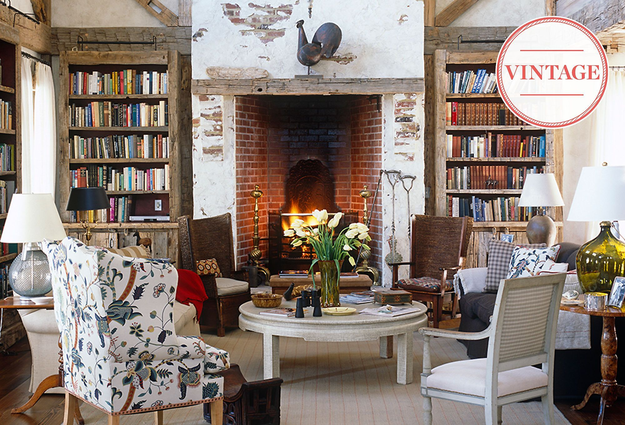 Classic american home interior american classic vintage farmhouse style  interiorexterior design