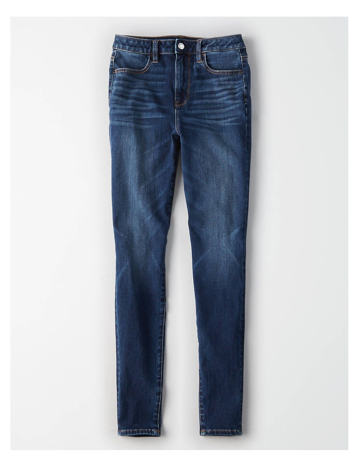 850abf8919140 AE 360 Ne(X)t Level Super High-Waisted Jegging, Somber Navy | American  Eagle Outfitters