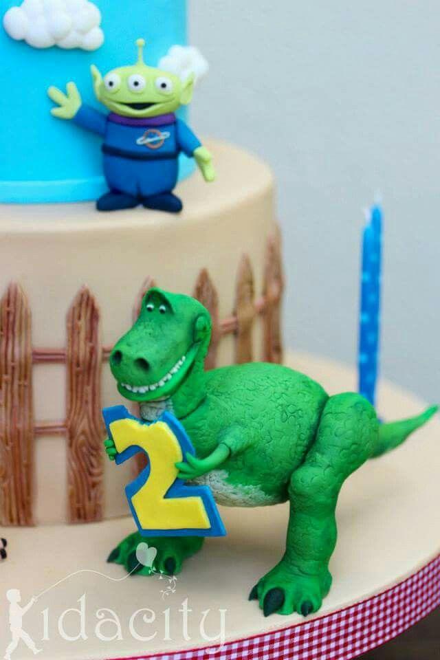 Rex Toy Story Topper Disney Dreamworks Amp Pixar Cakes