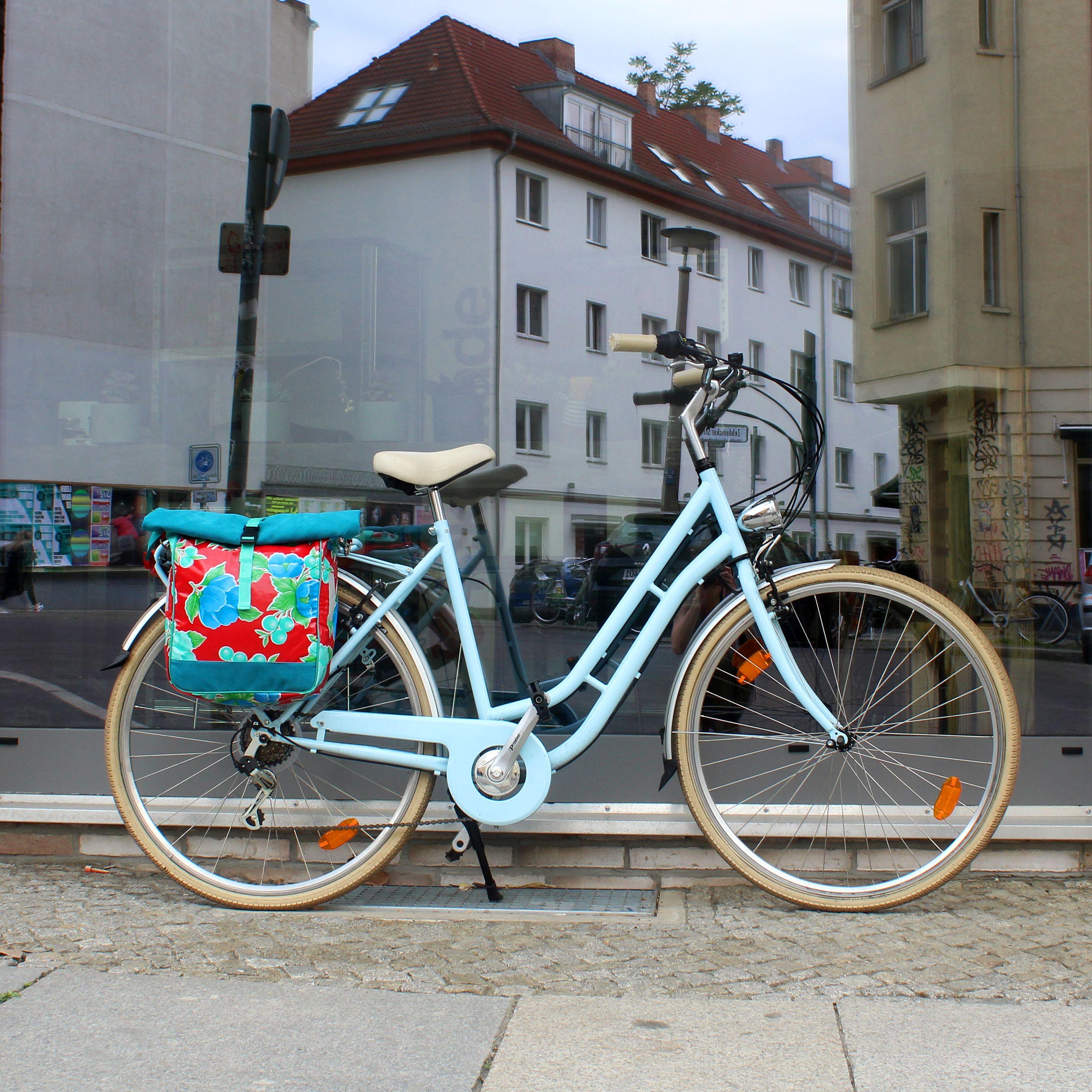 Bunte Fahrradtaschen Fur Den Gepacktrager Aus Wasserabweisendem