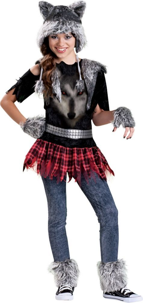 girls werewolf costume party city - Wolf Costume Halloween