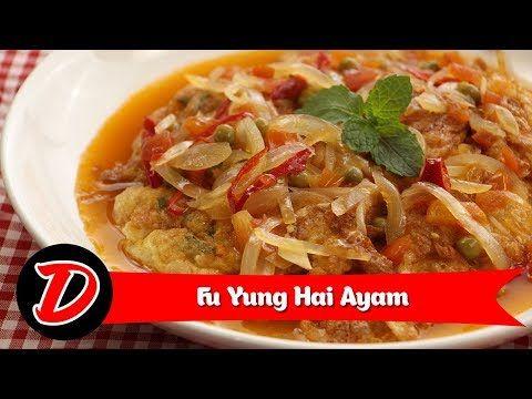 Resep Fuyunghai Ayam Cara Membuat Fuyunghai Ayam