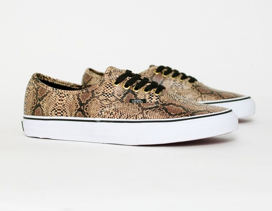 Vans Authentic Snake Gold Vans Sneakers Nike Snkrs