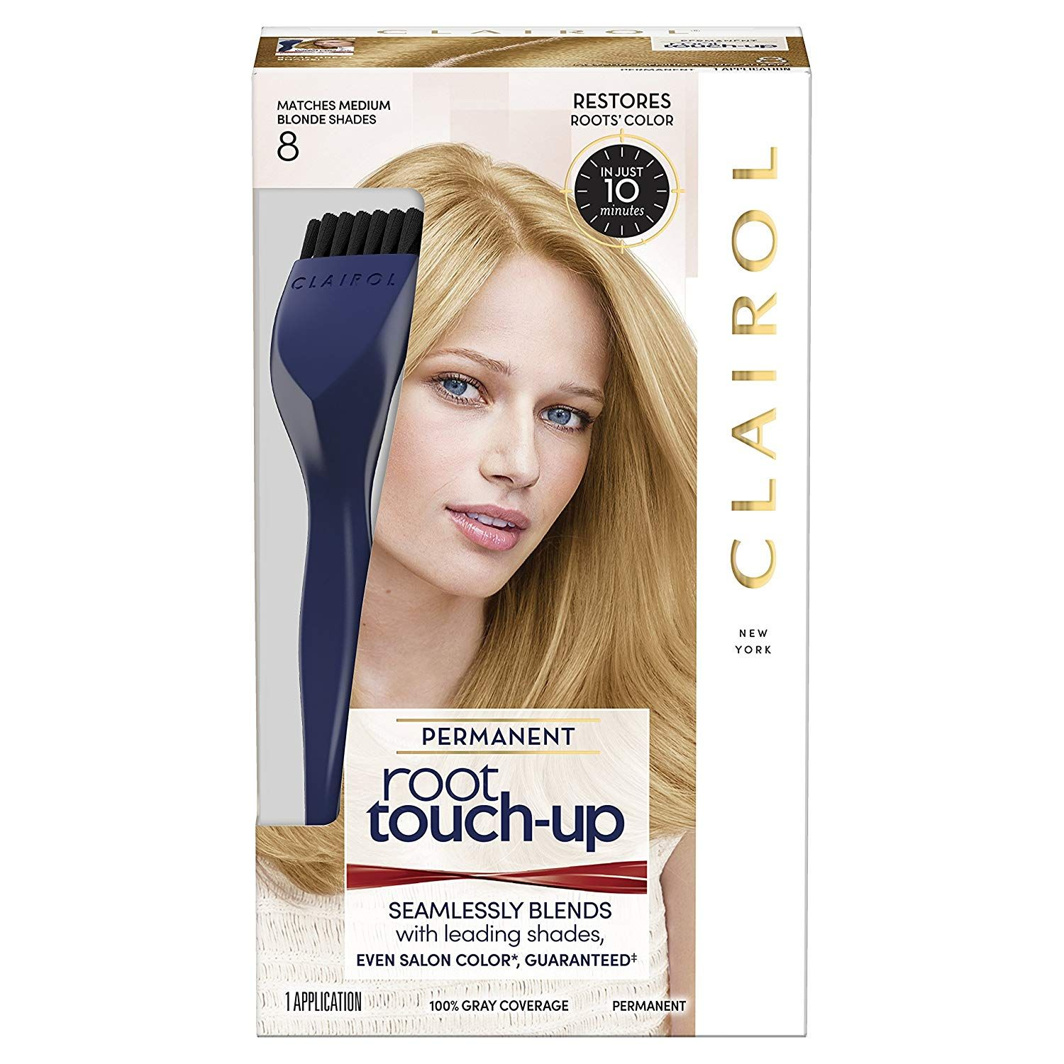 Clairol Nice N Easy Root Touch Up 8 Medium Blonde Details Can