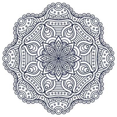 Mandalas Budistas Para Colorear Pintar Mandalas Hindues