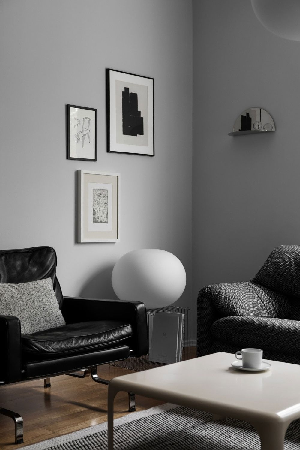 The Beautiful Apartment Of Studio Dom Home Inspiration Living - Sleek-and-beautiful-apartment-in-sweden