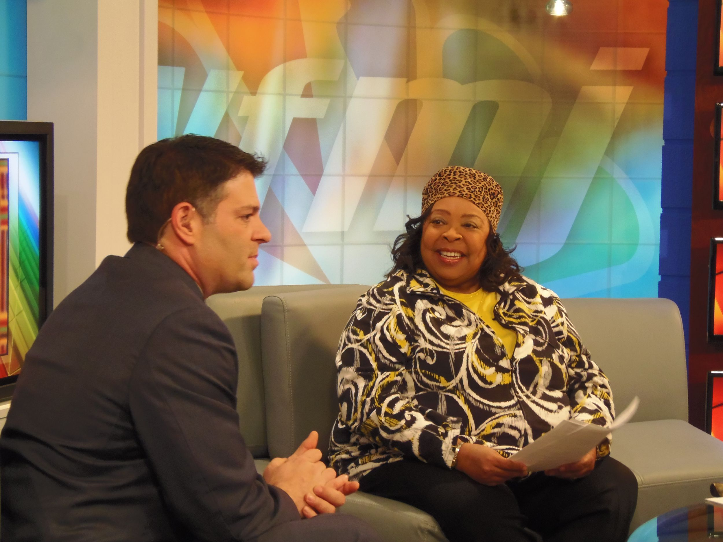 WFMJ Community Relations Director Madonna Chism Pinkard was