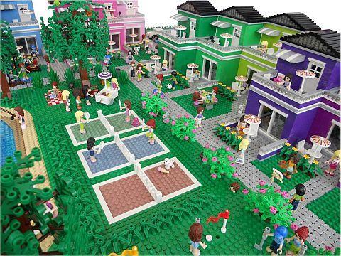 Lego Friends Resort Town Houses More Lego Friends Lego Friends Sets Lego Design