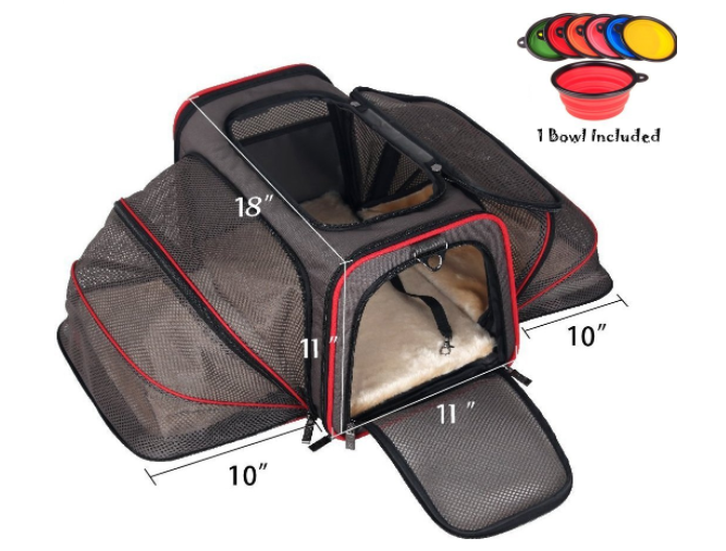 7 Of The Best Airline Approved Dog Carriers For In Cabin Flights Kittens And Puppies Dog Car Travel Pet Carriers