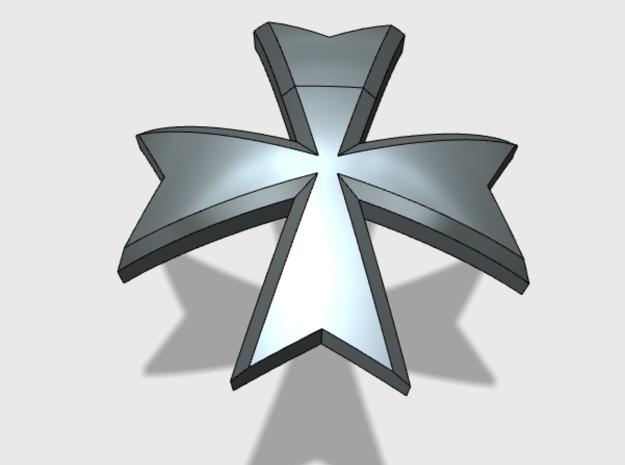 60x Maltese Cross Shoulder Insignia Pack By Matt Sweitzer On Shapeways Maltese Cross Shapeways Insignia
