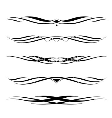 Fancy Page Dividers   Decorative elements border and page rules vector 929196 - by 100ker
