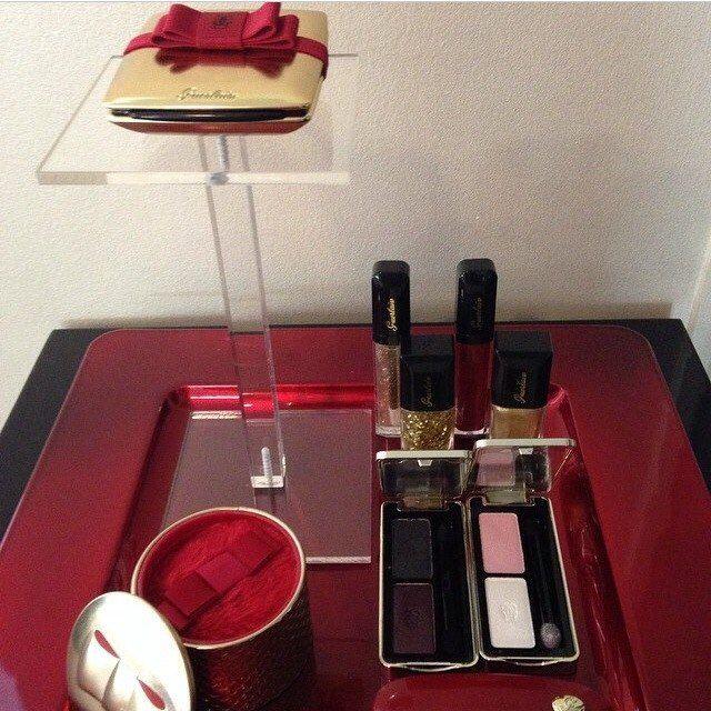 Guerlain Christmas/Noel (Holiday) Makeup Collection 2014 Un Soir A l'Opera (Instagram)
