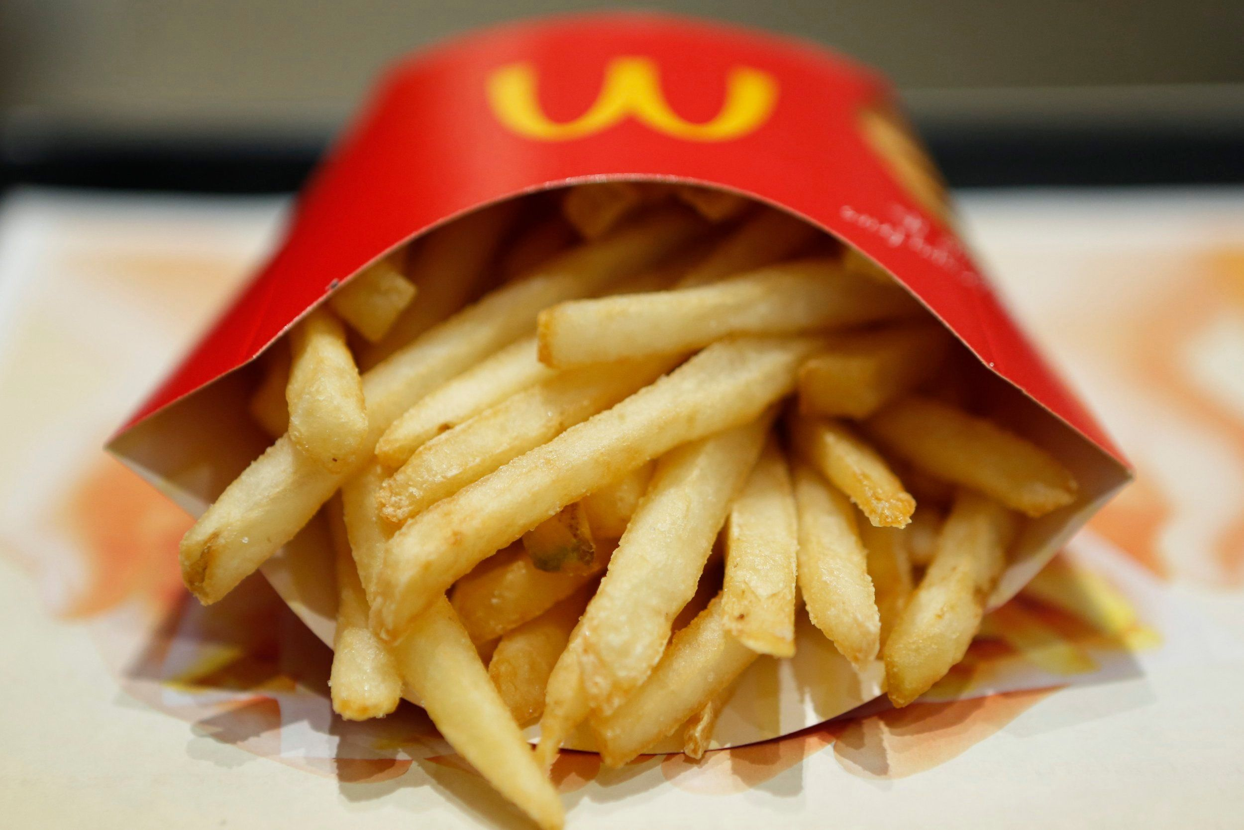 Picture Bloomberg Via Getty Images Theres No Such Thing As A Free Lunch Unless Youre Talking About Mc Mcdonalds Fries Mcdonald French Fries Mcdonalds Chips