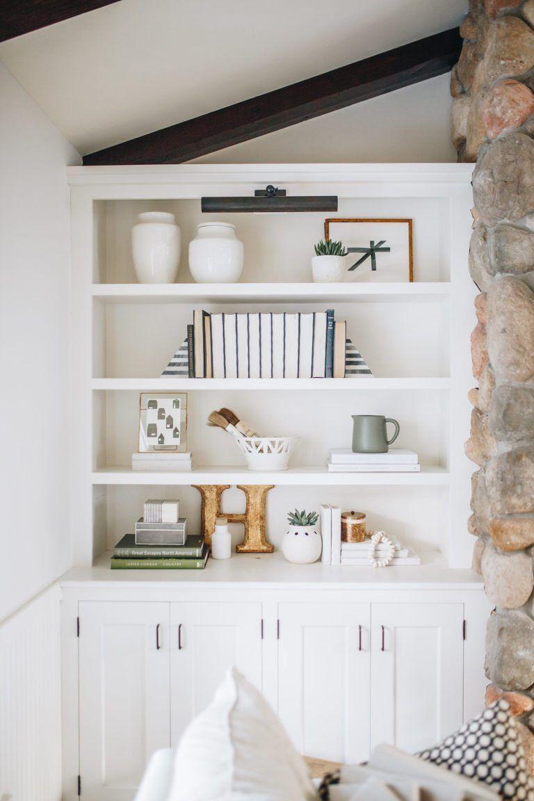How To Style A Bookshelf Minimalist Bookshelves Styling Bookshelves Bookshelf Decor