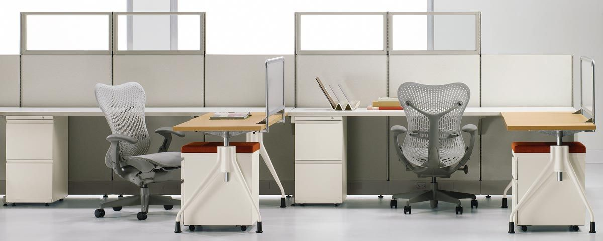 action office - office furniture system - small and medium