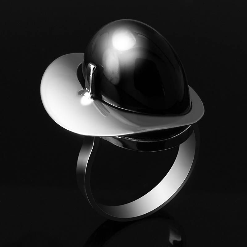 Best Sortija De Ónix Y Plata Onix And Silver Ring Joyas 400 x 300