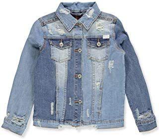 fdf65ae7829d7 7 For All Mankind Kids Womens Cropped Denim Jacket (Big Kids)  girl  coat   jacket  fashion  moda  beauty  elegant