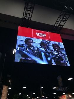 The Musketeers getting some love at Comic Con 2014