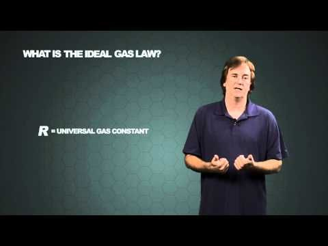 Ideal Gas Law Video This Video Can Serve As A Primary Or Reinforcement Type Lesson On Ideal Gas Laws Students That A Ideal Gas Law Gas Constant Chemistry 101