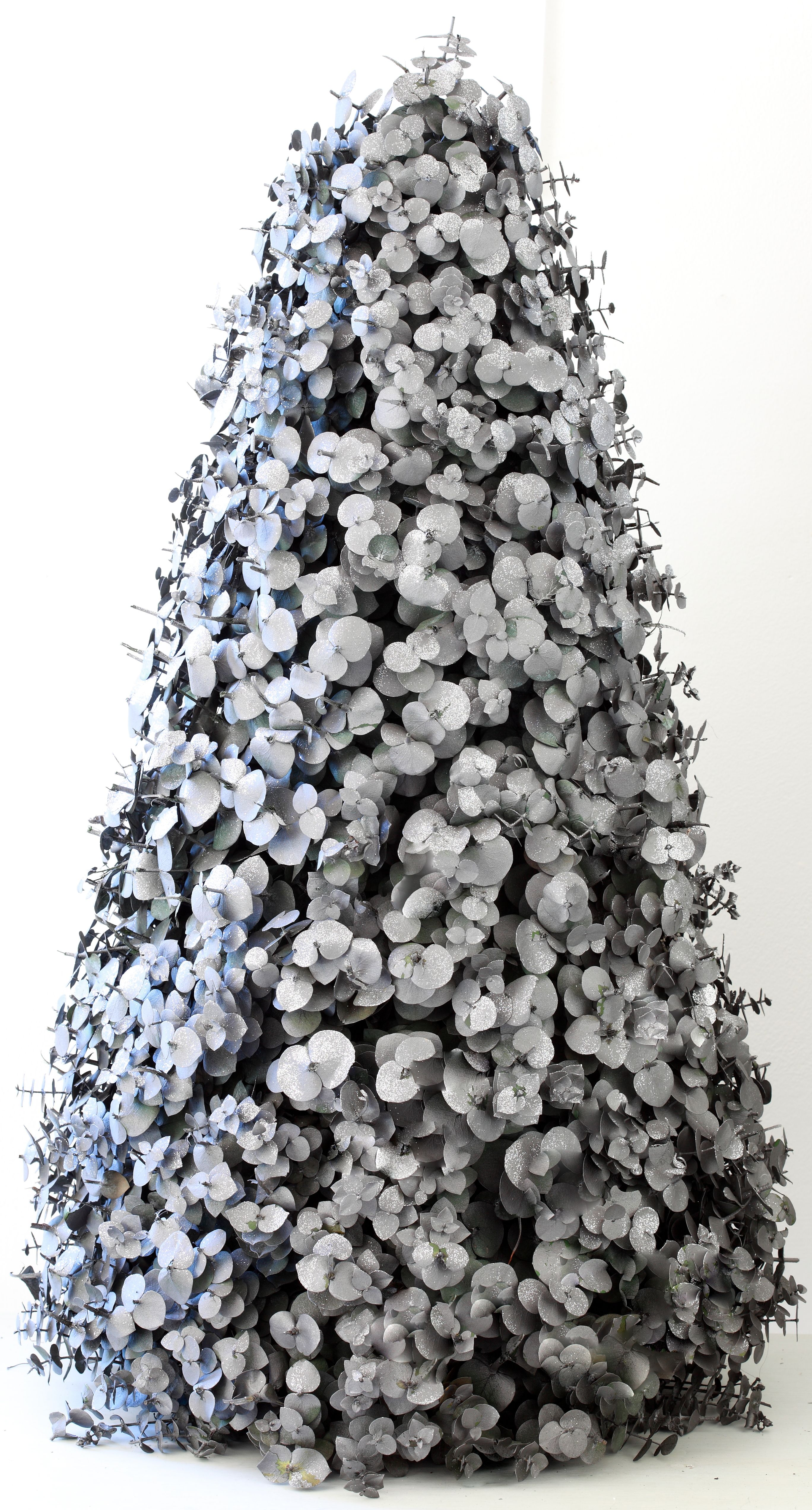 Silver Small Leaf Penny Gum Tree Www Topiary Co Za Beautiful Christmas Topiary Trees Christmas Decorations