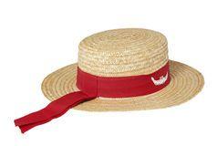 Sombrero de paja tradicional del gondolero Fotografía de archivo ... 6a378cb3151