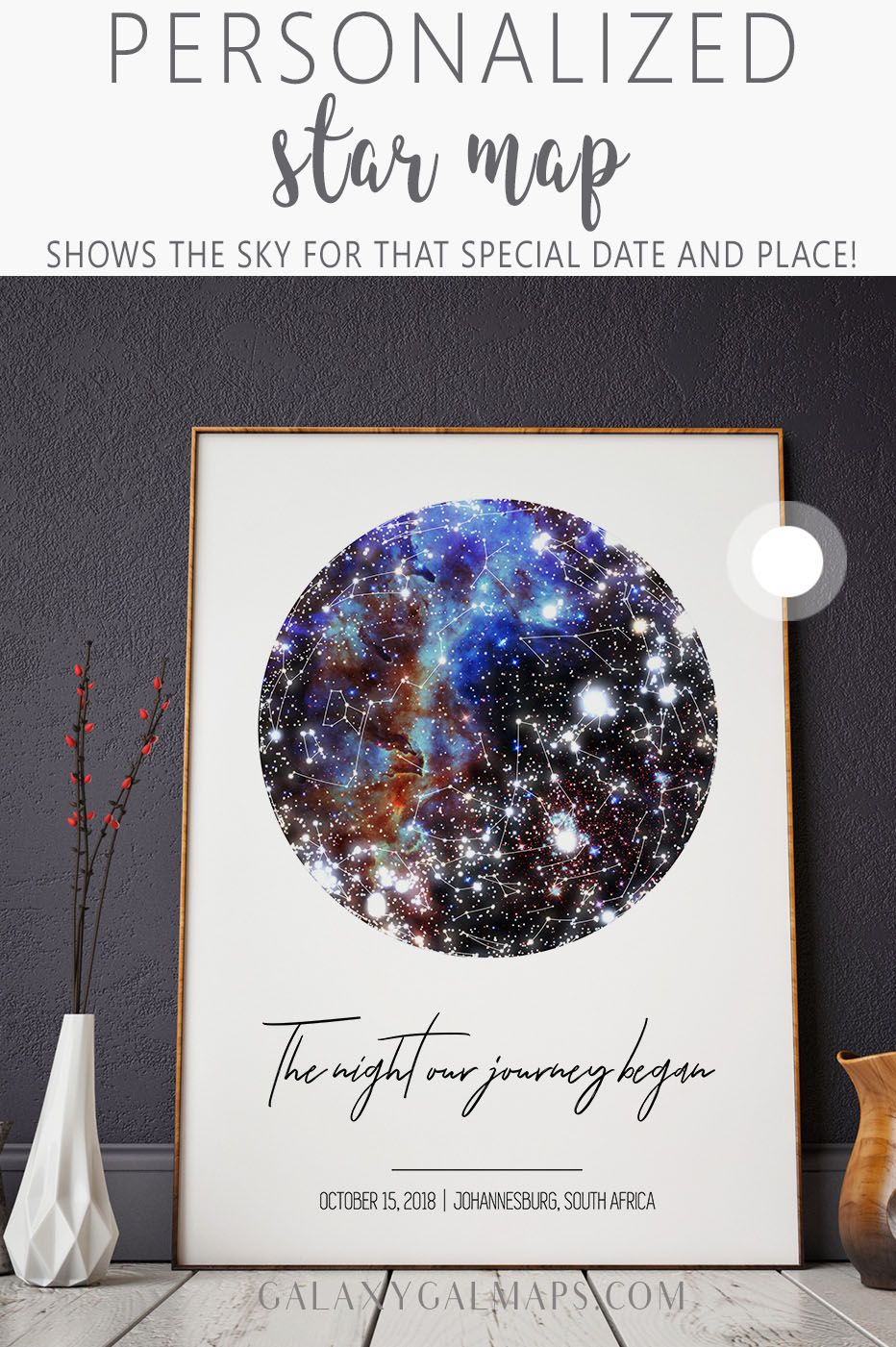 Unique Star Chart By Date 0 Rustic Guest Book Christmas Gift Downloadable Print Planetarium Gif Book Christmas Gift Star Map Boyfriend Anniversary Gifts
