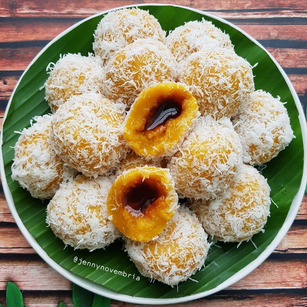 Ini Nih Salah 1 Kue Jajanan Pasar Favorit Cobain Kreasi Klepon Labu Kuning Yuk Kalau Di Daerah Kamu Apa Nama Kue Ini Resep Di 2020 Resep Labu Kuning Resep Masakan Indonesia Resep