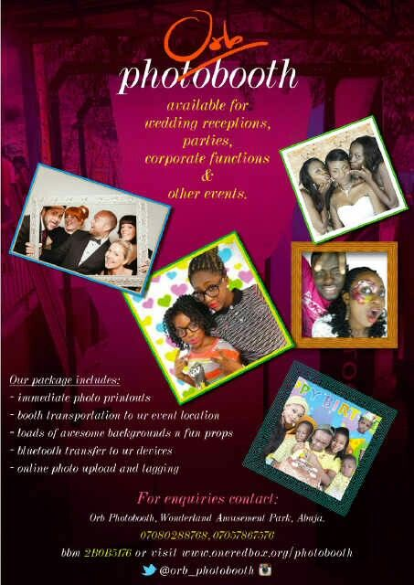 Orb Photobooth flyer | Orb! Photo booth | Photo booth, Photo
