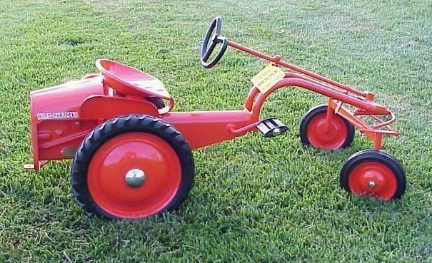 Allis chalmers g pedal tractor pedal cars pinterest - Tracteur cars ...
