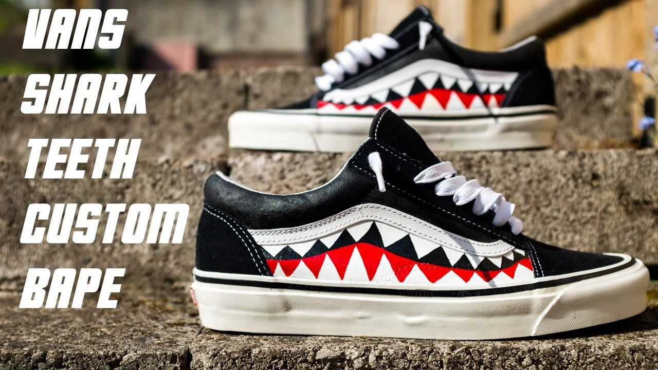 7ae314ee64a10f Vans Shark Teeth
