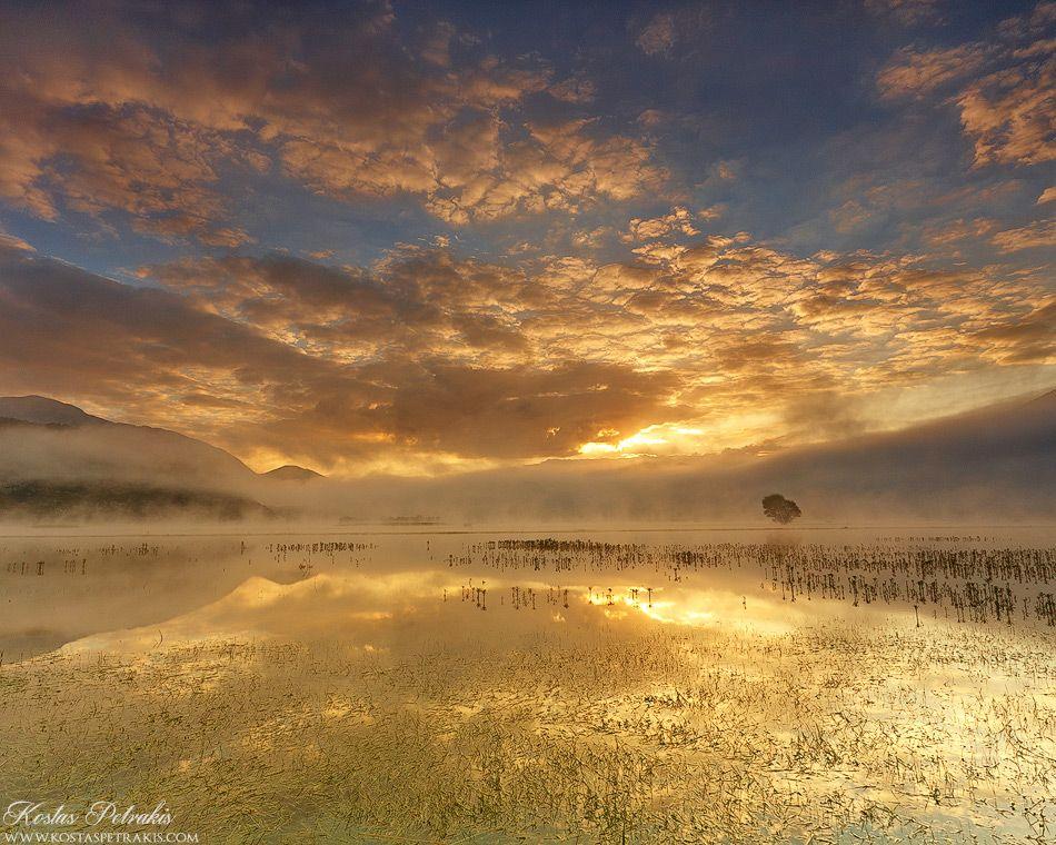Stymfalia Golden Sunrise