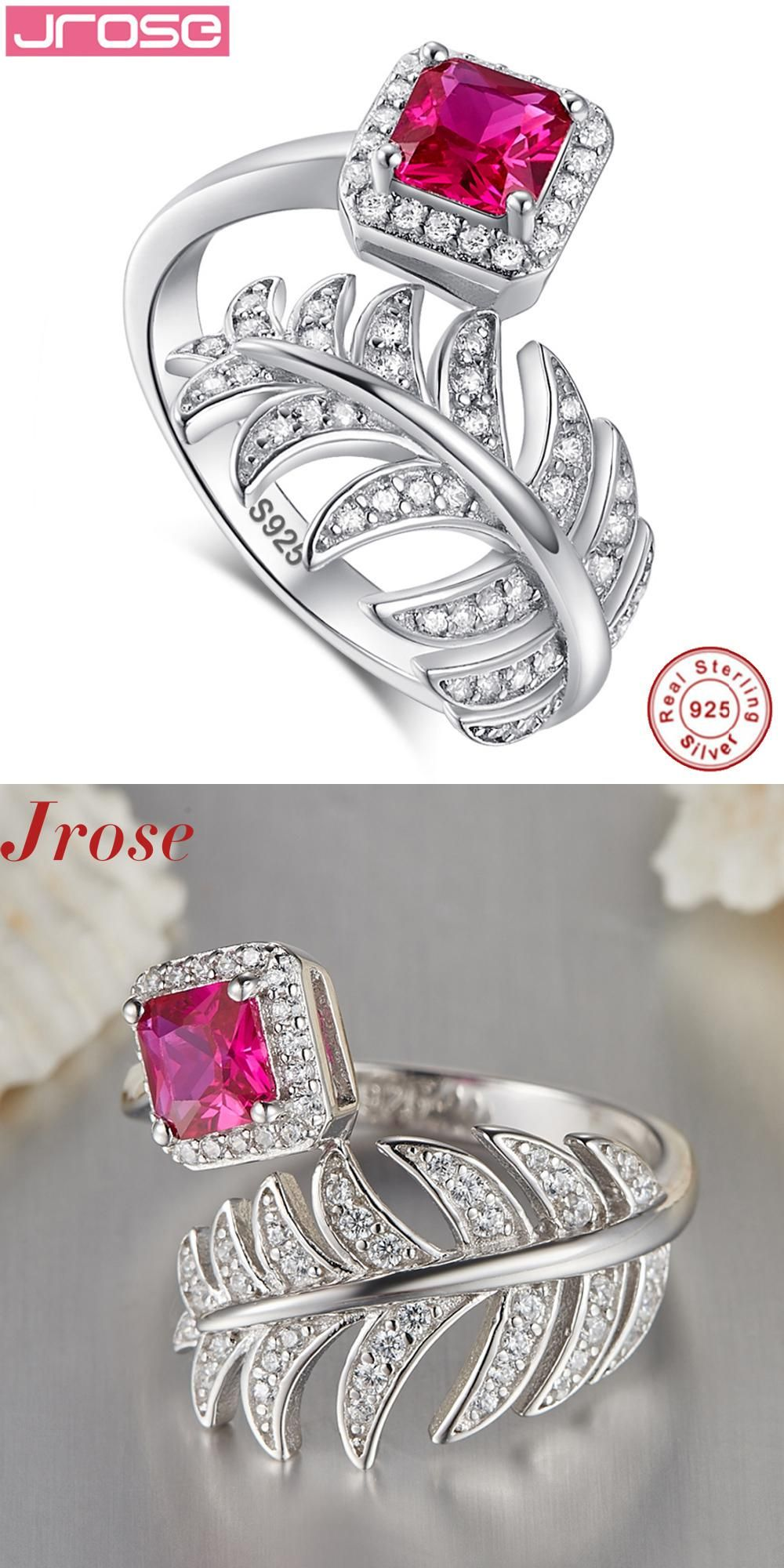 silver img ring product style index rings zircon sterling new stone size