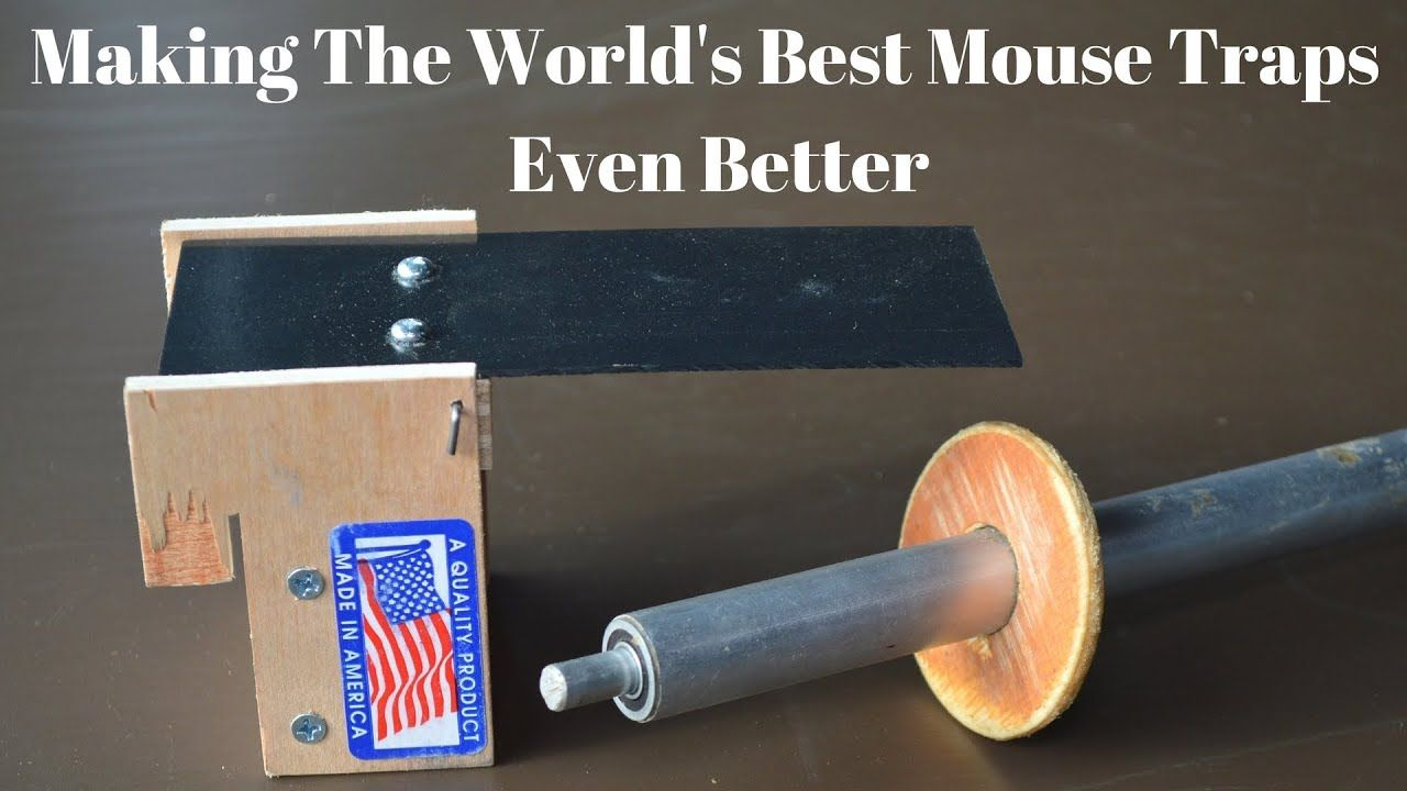 How To Make The World's Best Mouse Traps Even Better