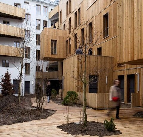 KOZ Architects; TÊTE EN L'AIR, Paris.