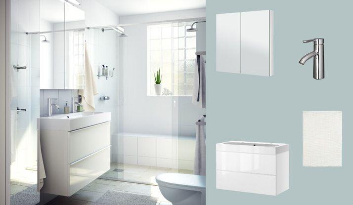 Bathroom Design Ikea Fascinating Szafka Pod Umywalkę Godmorgonodensvik Z Dwiema Szufladami Dąb 2018