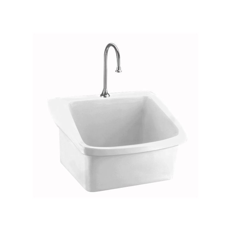 American Standard 9047 093 Surgeon S Scrub 28 Wall Mounted Porcelain Bathroom S White Fixture Utility Sink Vitreous China Sink Utility Sink Tub Shower Faucets