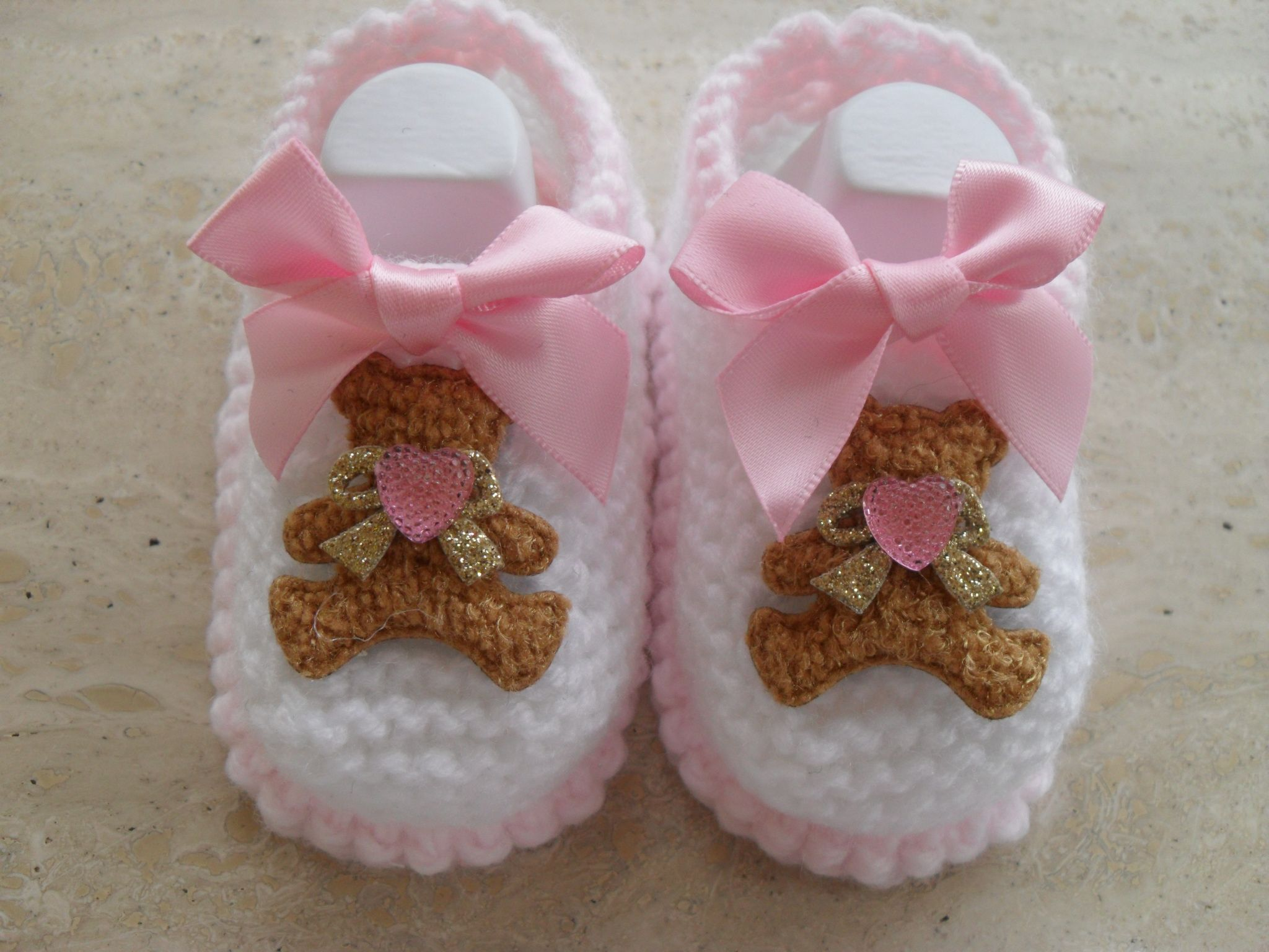 Cute Baby Girl Shoes Knitting Pattern This Pattern Makes Three