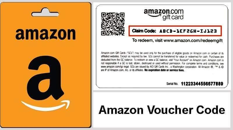 Amazon voucher code to get off qualified purchase with